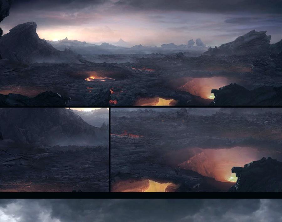 'Planet Earth: Volcanoes'by degerardo