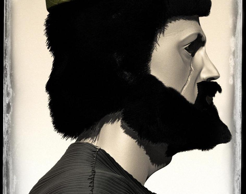 Deioces or Dia-oku 3d Model مدل سه بعدی پادشاه دیاکوby Seyed Muhammad Hossein Mousavi