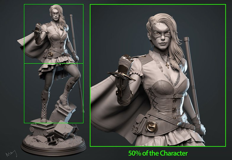 detailing character
