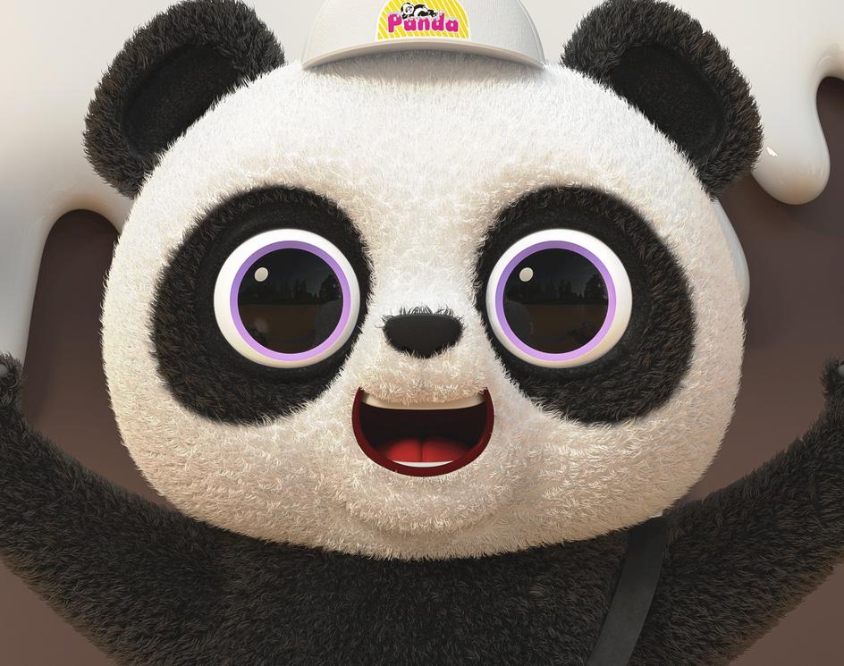 PANDA ice creamby angel rapu