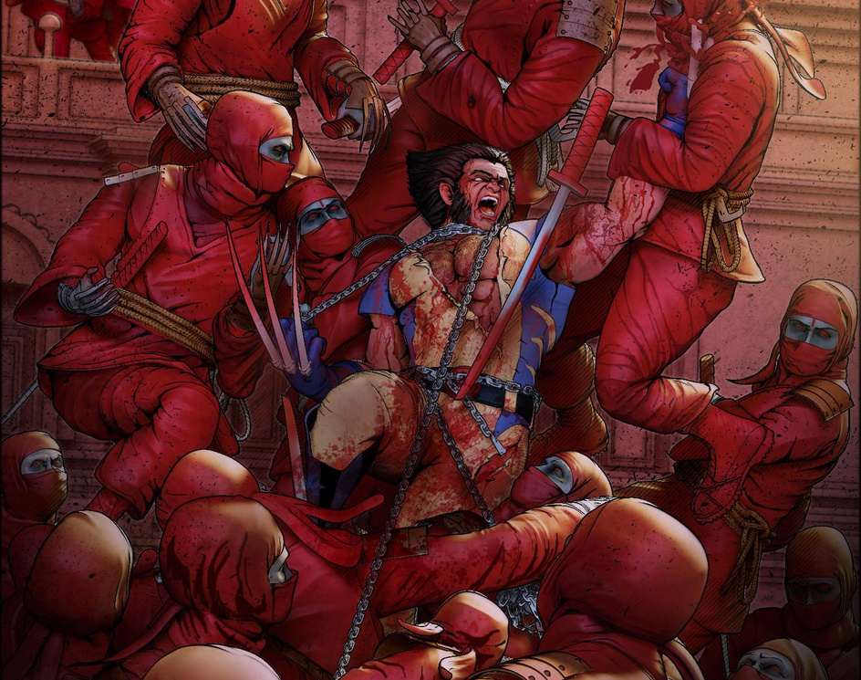 Wolverine vs Ninjasby prabhat majumder