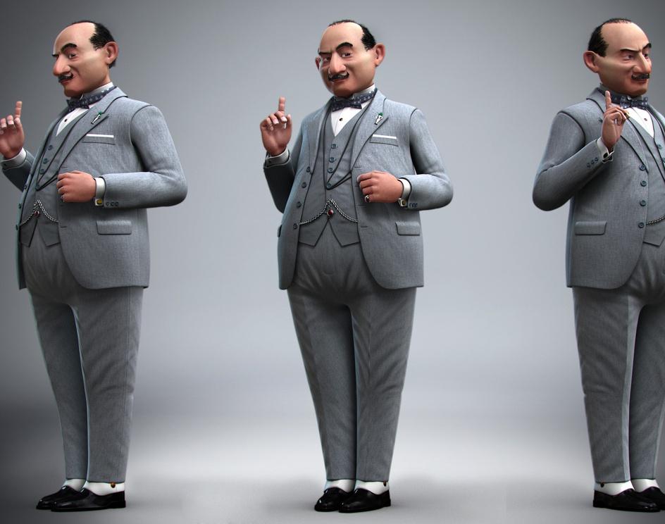 Hercule Poirotby diromha