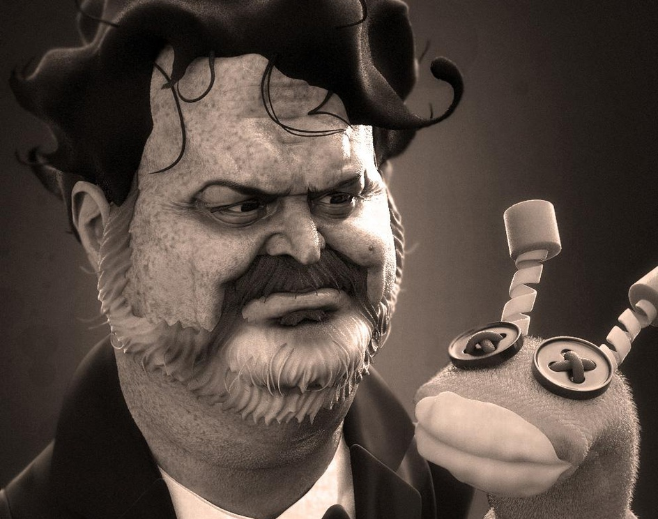 Tim Schafer caricatureby Leppee