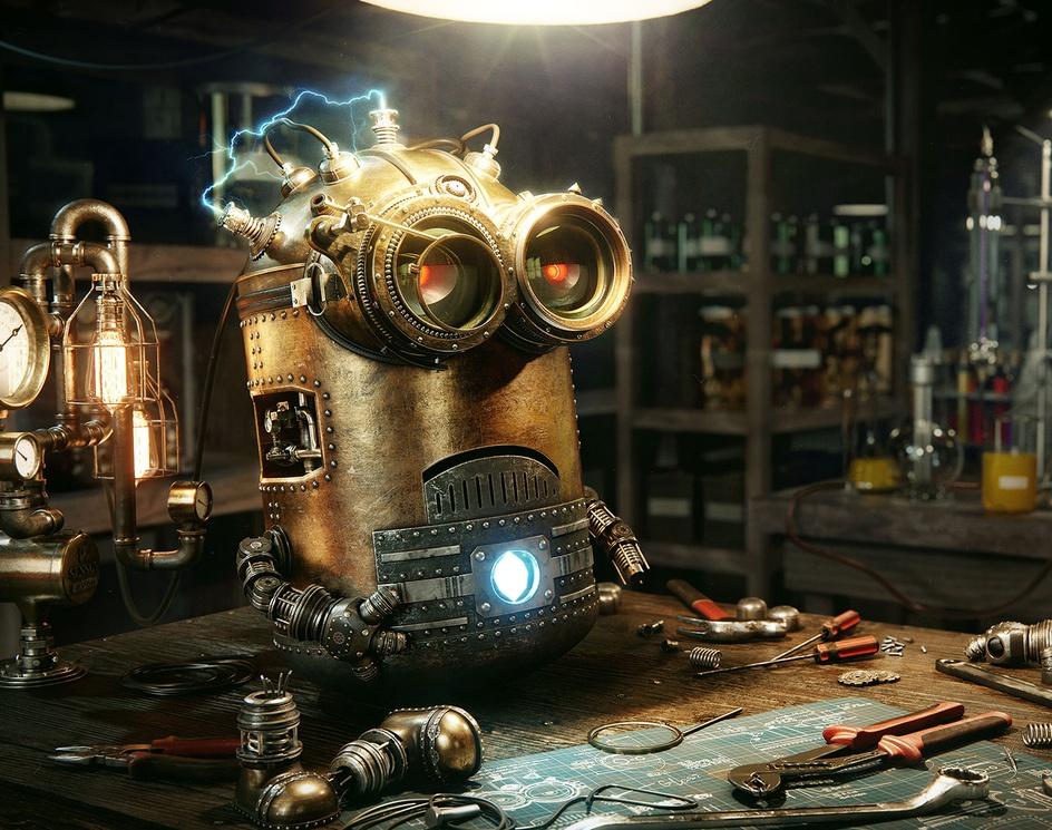 Steampunk Minionby Dmitriy