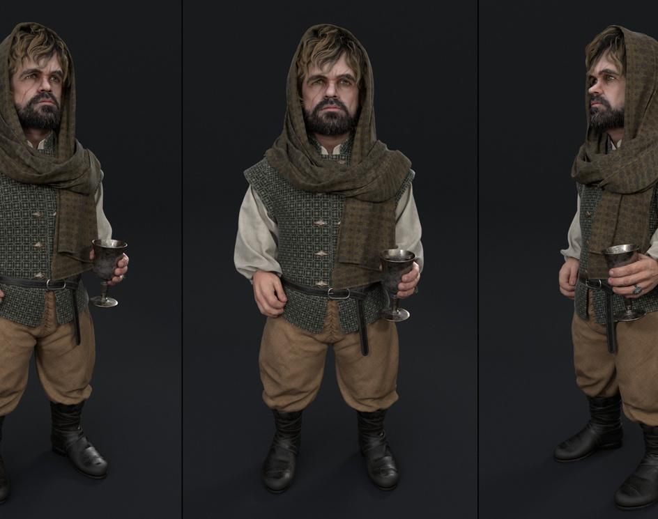 Tyrion Lannister Fanartby Dmitry Kremiansky