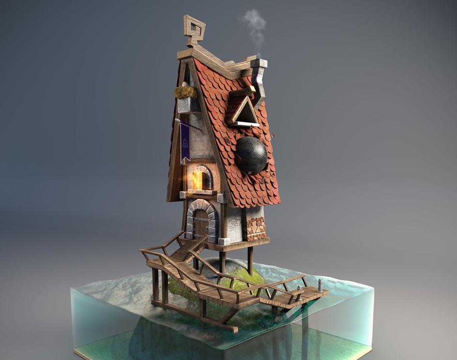 Viking's houseby doonpi