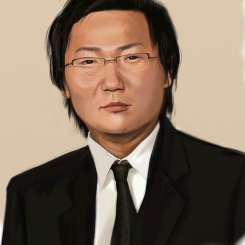 hiro character design 2d illustration male portrait