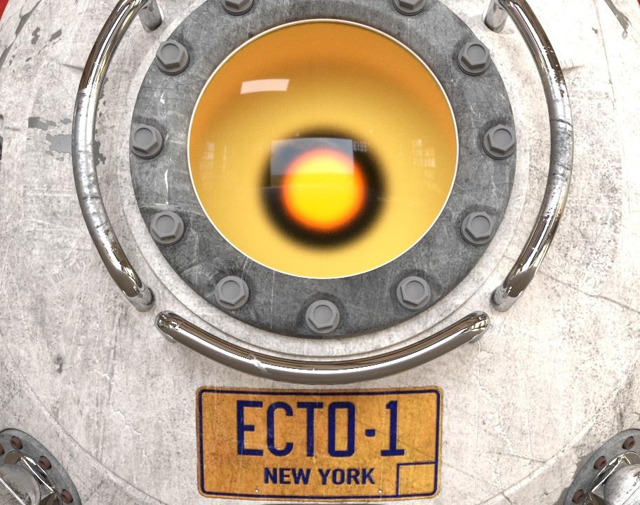 ECTO-1 Droneby Roberto Macchiesi