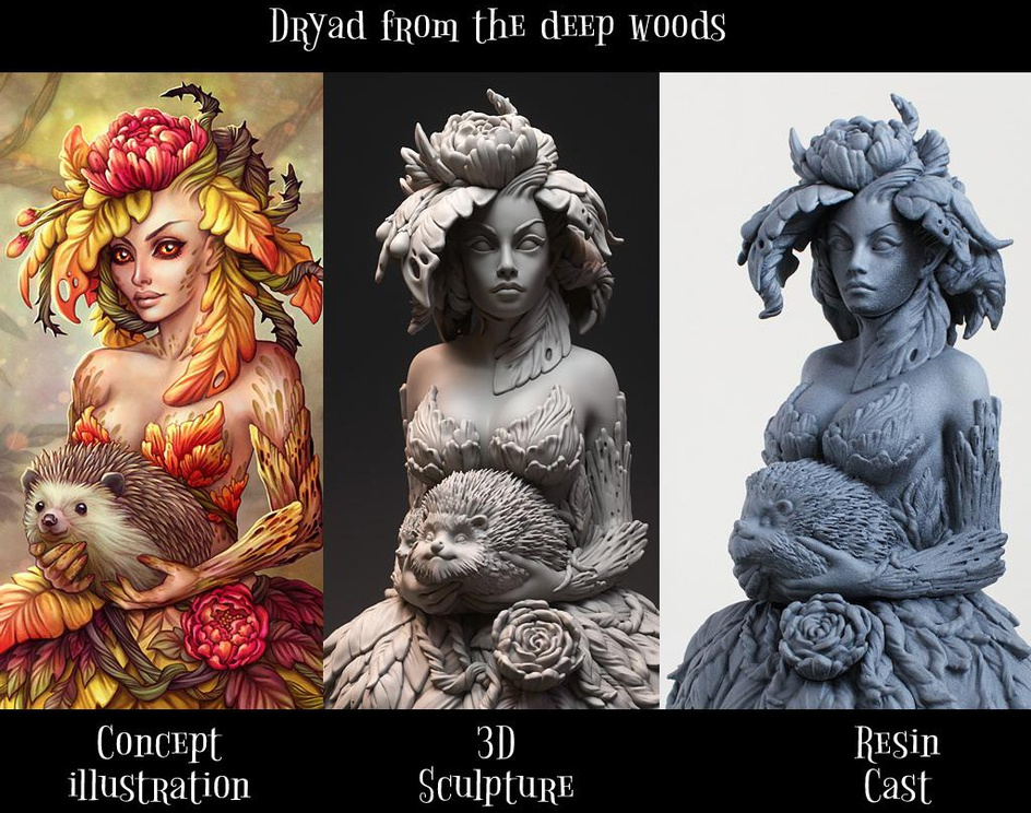 Dryad from the deep woodsby Pawel Jaruga