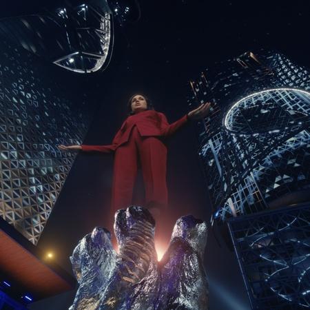 netflix science fiction cyberpunk effects
