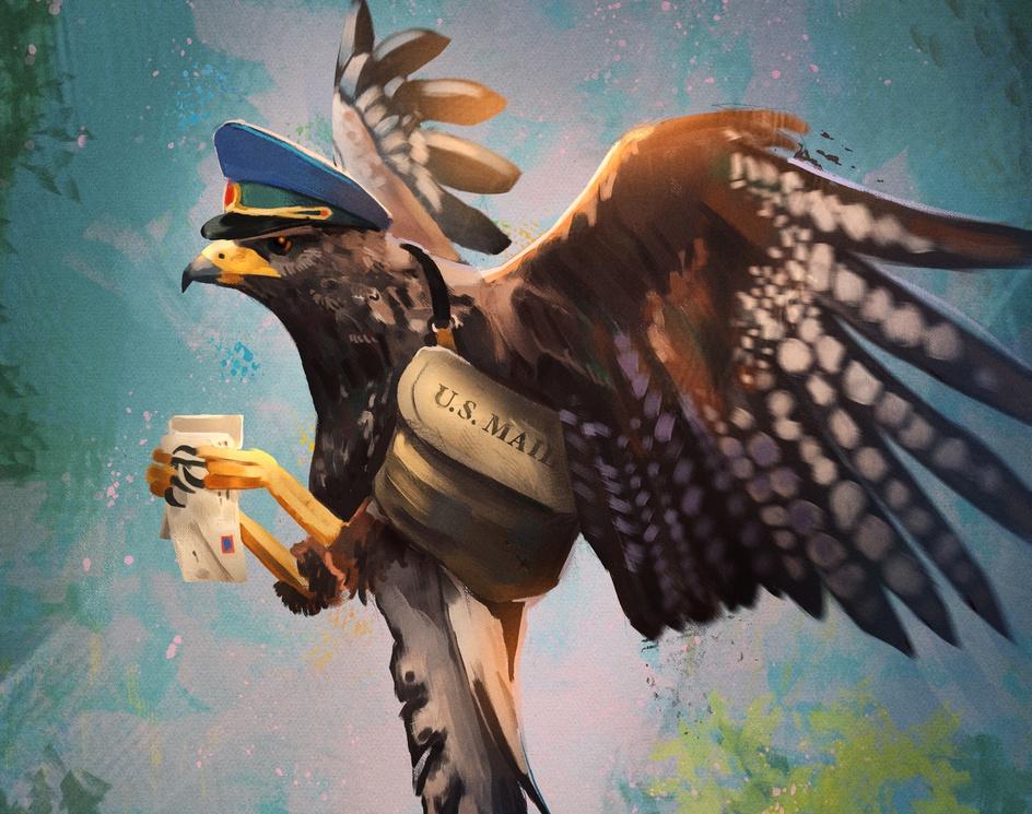 U.S. Mail Eagleby Benedikt Dietrich