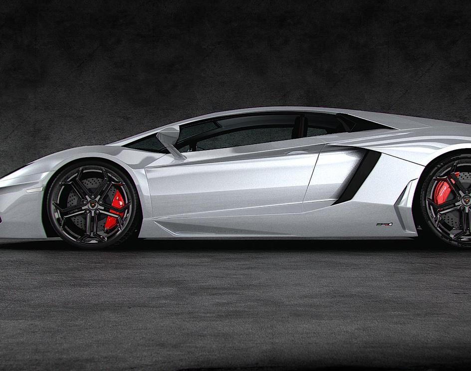 Lamborghini Aventadorby echizen78