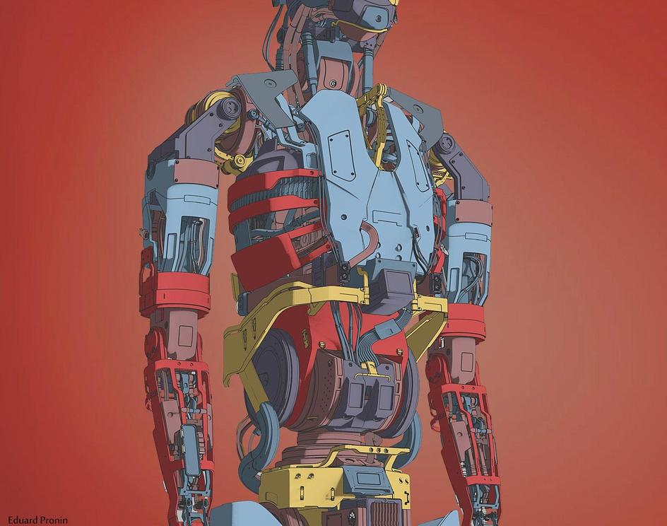 Human-robot designby Eduard
