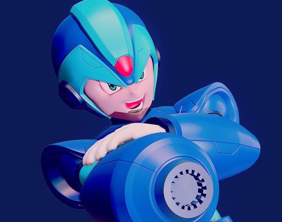 Megaman Xby Victor Guzman