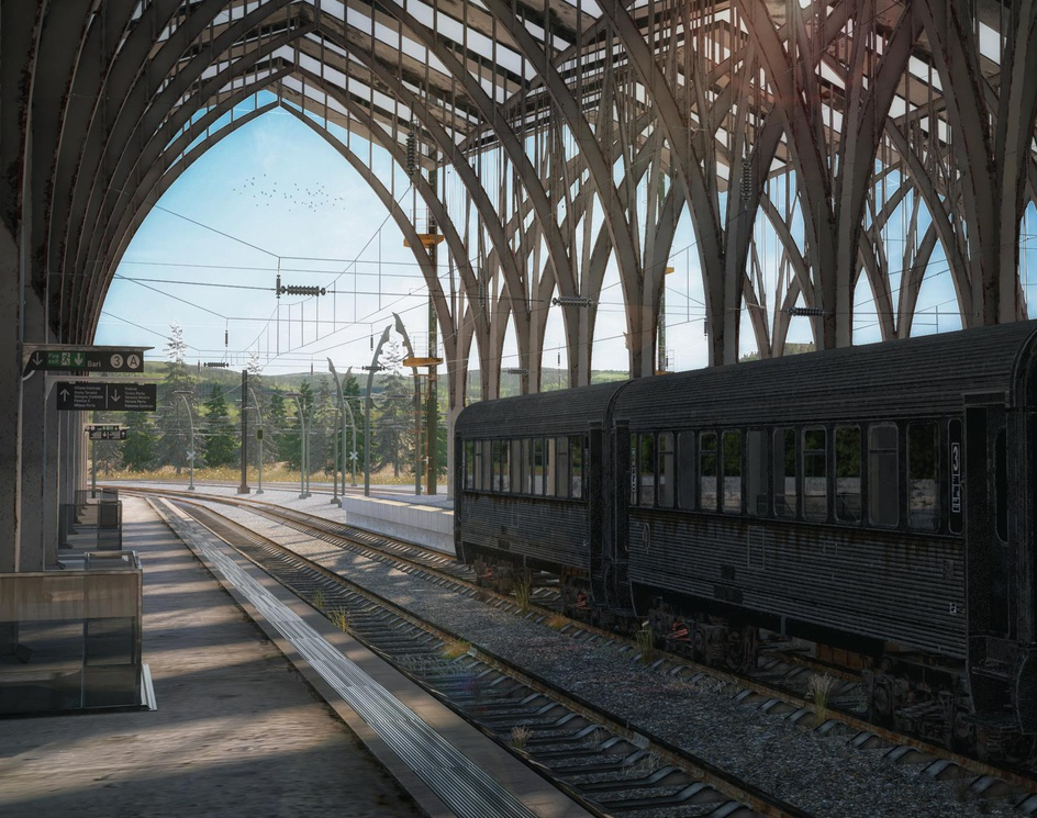 abandoned Train Stationsby Ehsan Salehpour