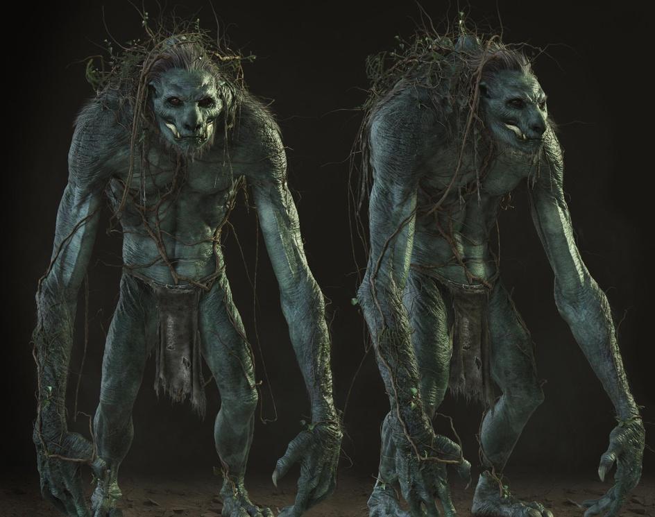 Swamp Creature - Full Bodyby Eklettica