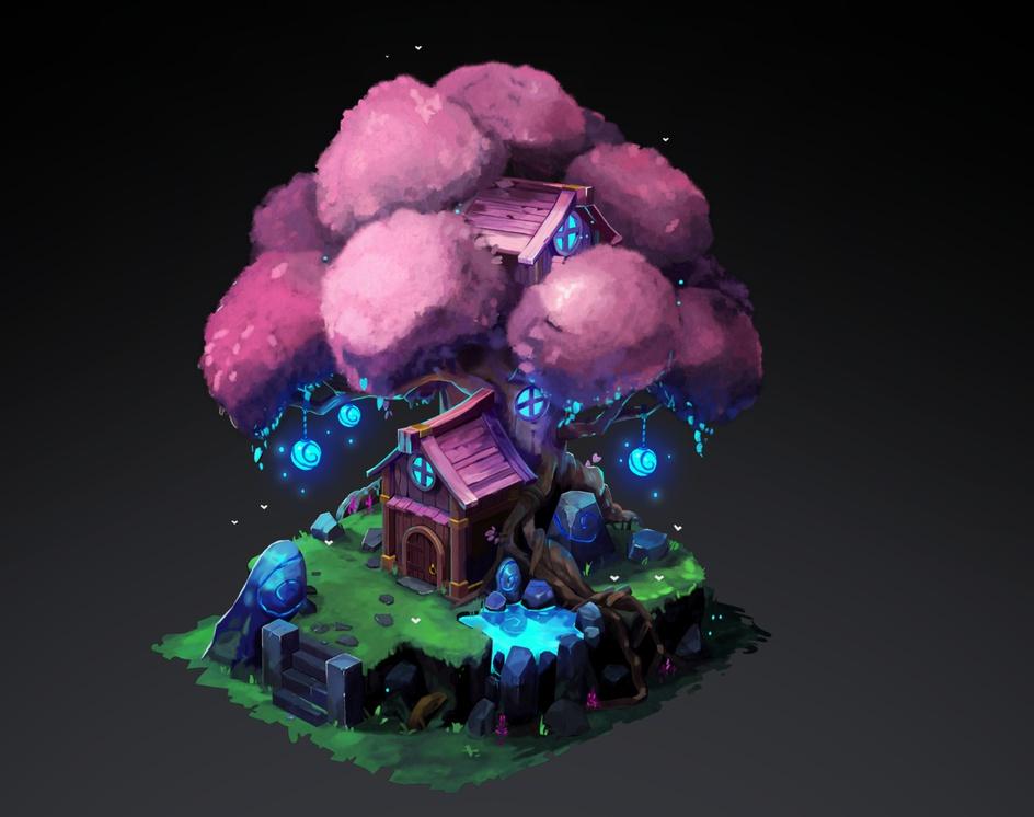 3D Elf Treeby Arthur Sarah