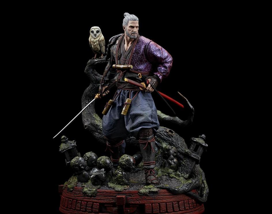 Geralt Ronin Figure - CD Projektby Marco Splash