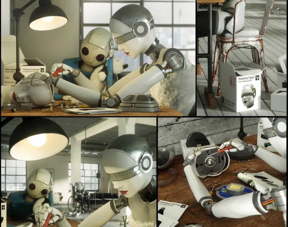 Cyber Destiny - Repairing GrandMaby enricocerica