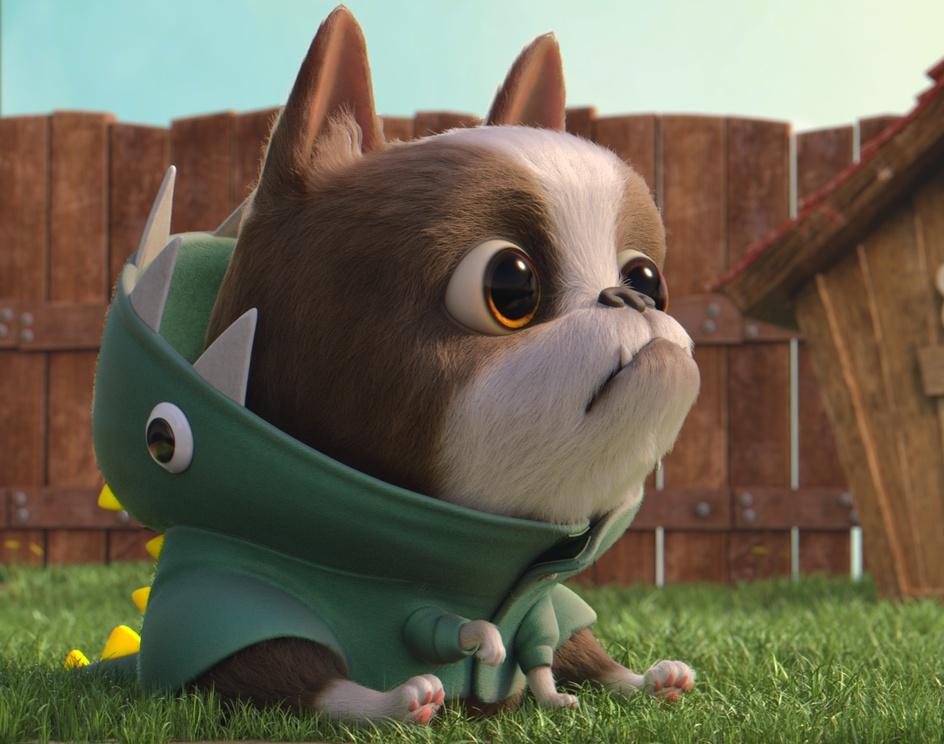 Little doggie dude - 3Dby Erick
