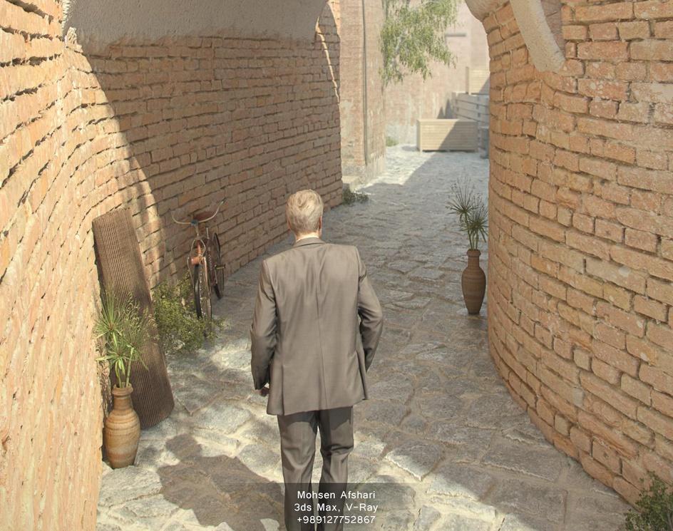 The Alleyby Mohsen Afshari