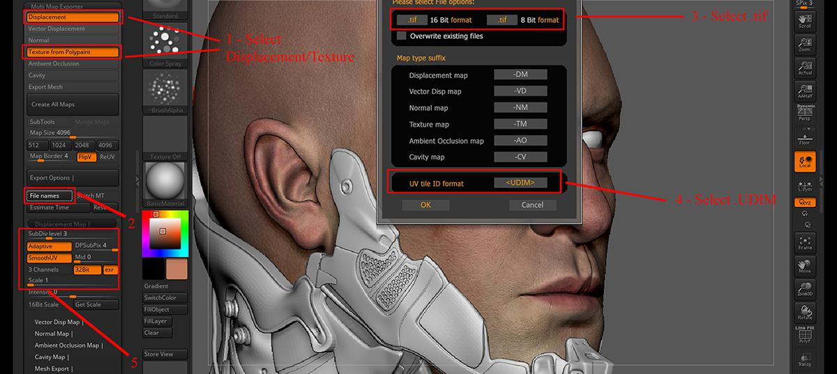 Cyberpunk 2077 3d male fanart exporting maps