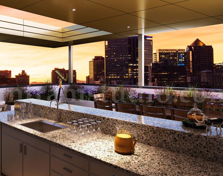 Dream Rooftop Landscape Rendering Services by Architectural Rendering Studio - France – Parisby Ruturaj Desai
