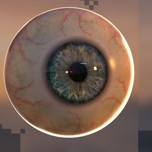 eye detailing pupil texturing
