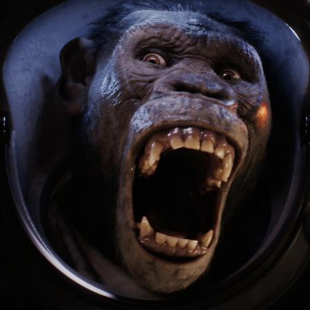 monkey visuals vfx animation mammal