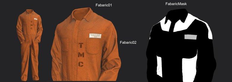fabric blending 3d texture model