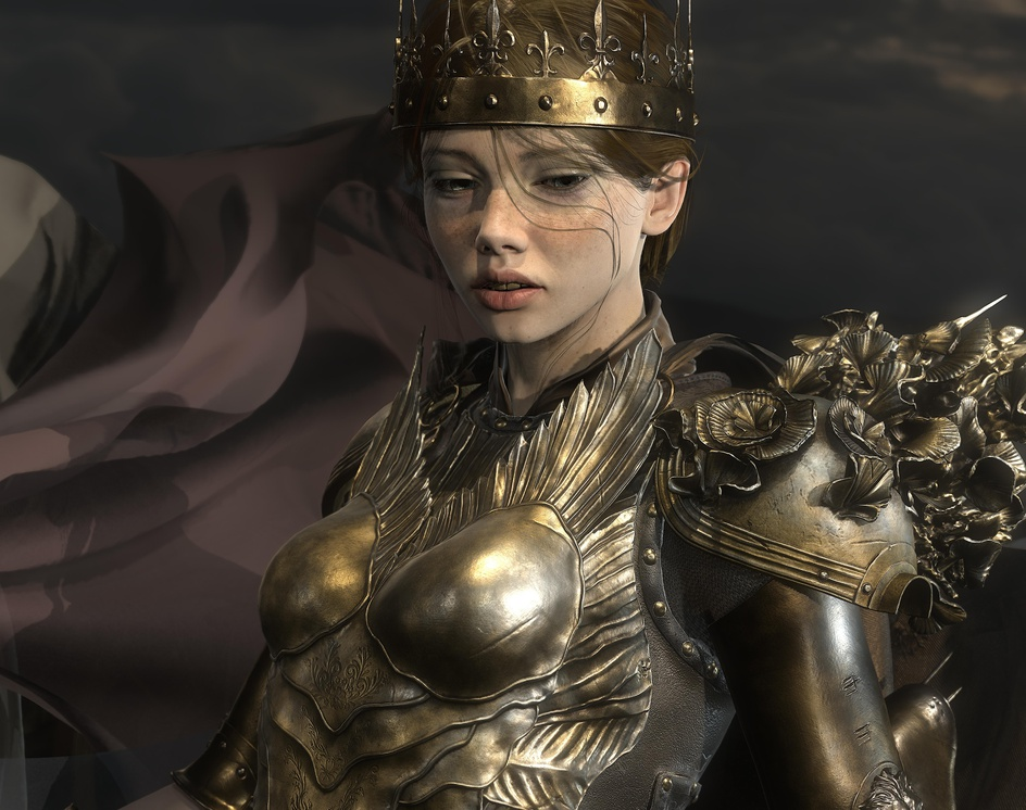 Joan of Arc (Real-Time)by Andrea Savchenko