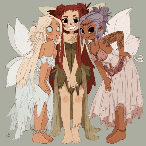 female faeries