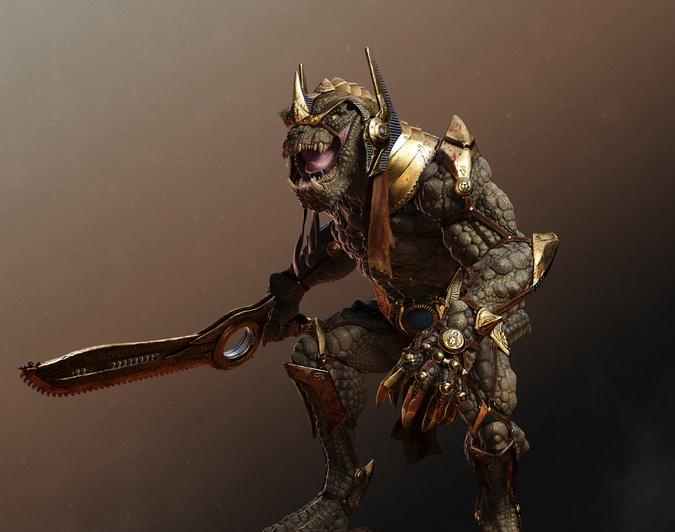 SOBEK RE - The Lizard King · 3dtotal · Learn