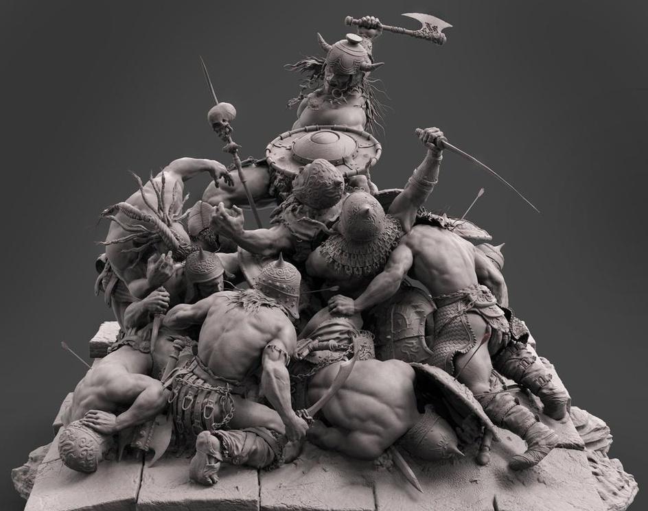 Conan the destroyerby farzad maleki