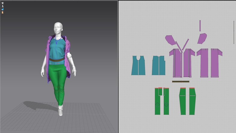 marvelous designer character clothes