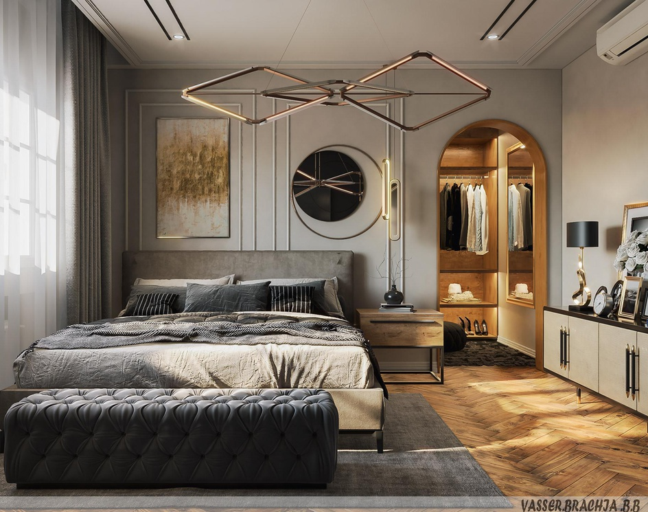Bedroom-modernby yasser 1992