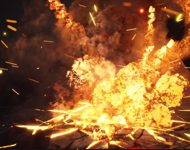 Explosions Pack in UE4 Niagara in Marketplaceby Ashif Ali