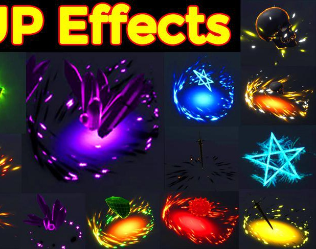 Pick up Effects in UE4 Niagara Pack01 in Marketplaceby Ashif Ali