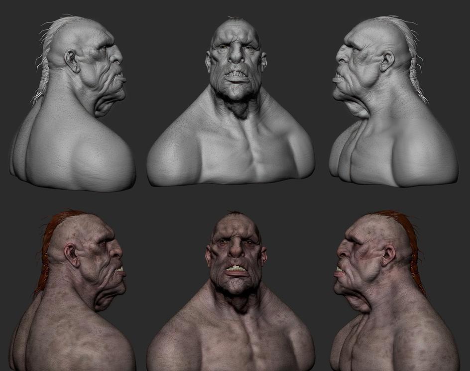 Creature Design Trollby islipe3d