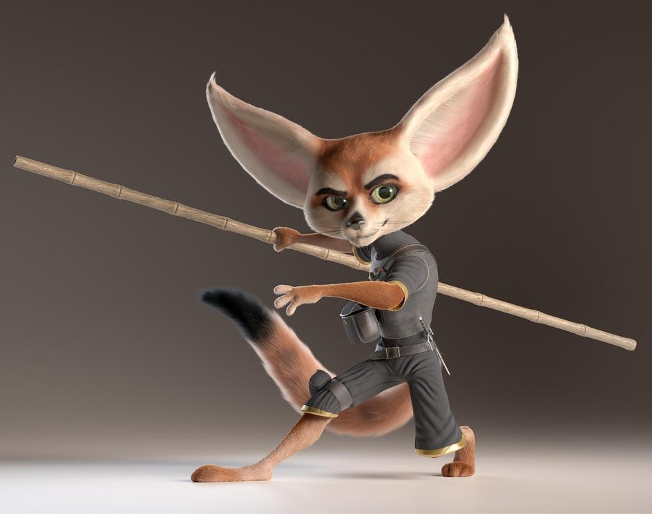 Fennec Fox Ninjaby Alexandre Mougenot