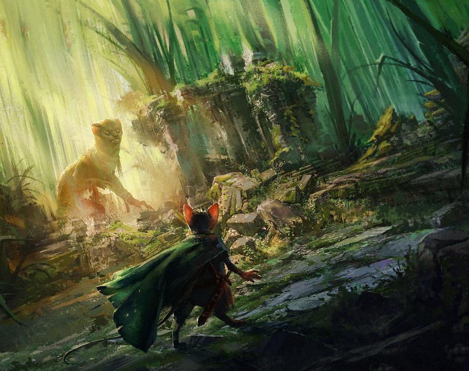 Mouse Guard - Grass Ruins Fight Sceneby HristoChukov