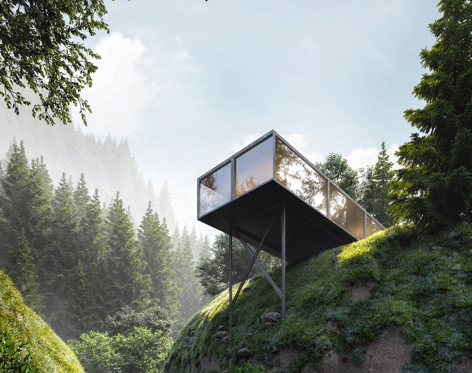 Modern House in the forestby Fillipe Farias