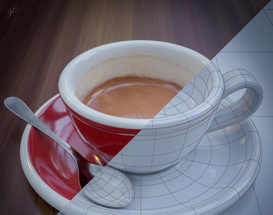 Coffee Cupby Jorge Hernandez