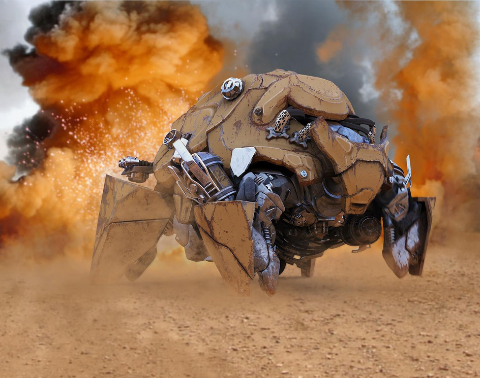 War Machineby Vahid Ghobadi Arfai