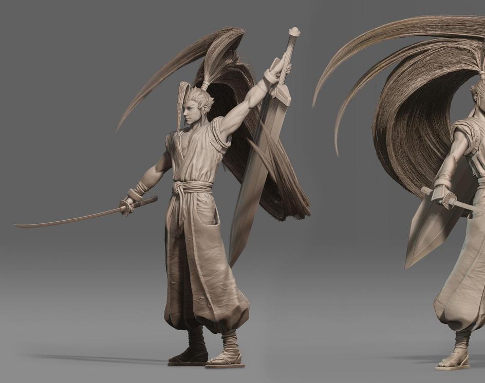 Brave Fencer Mushashi (fan art)by kidd_555