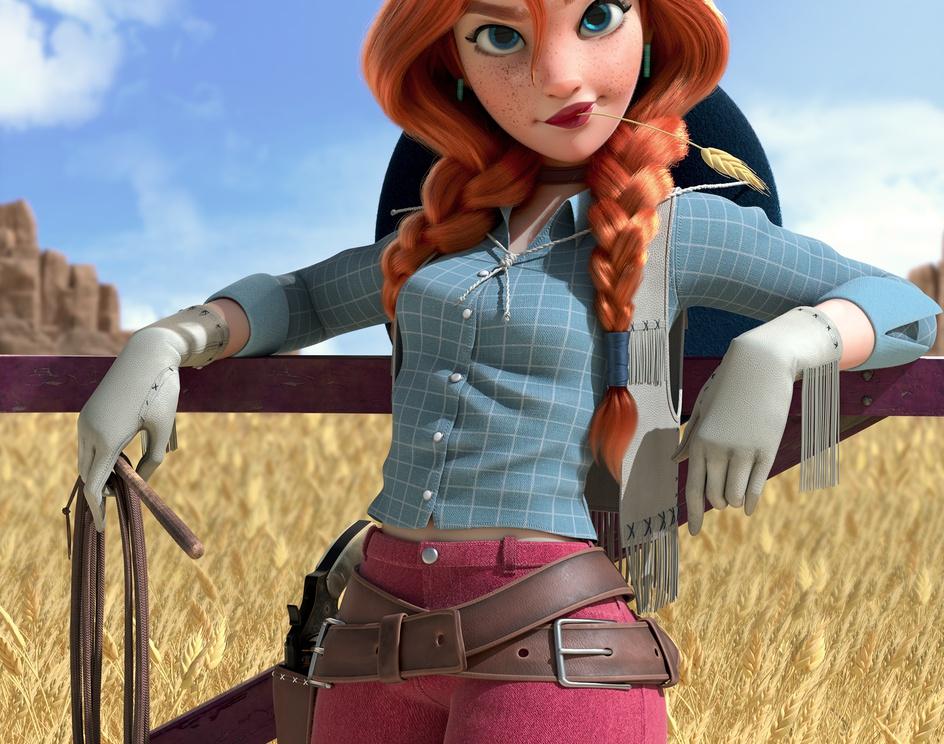 Cowgirlby Tony Silva