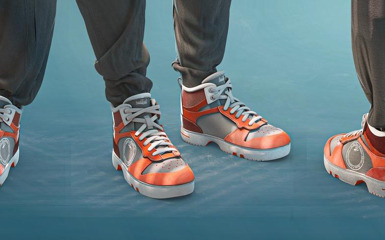 blender 3d model shoes
