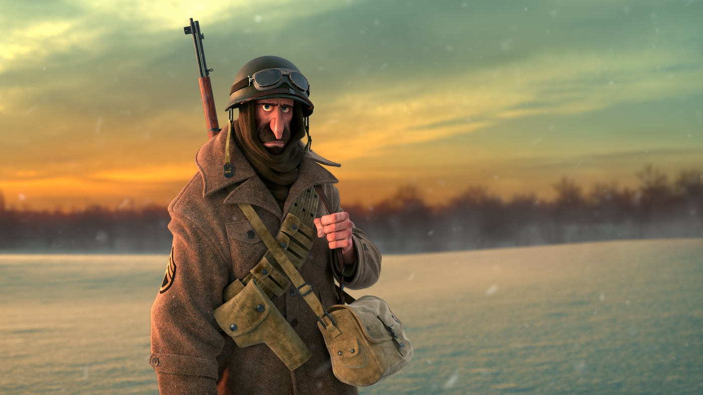 visual effects variations model soldier final render