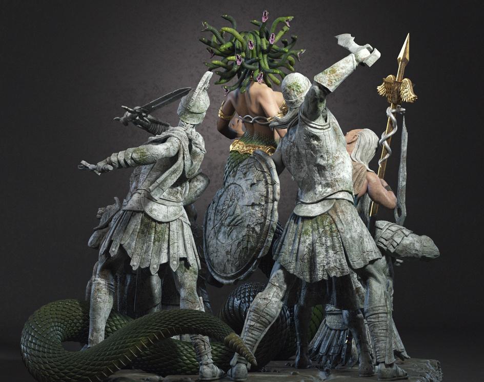 Medusa - Fan Artby Luan Mascarenhas