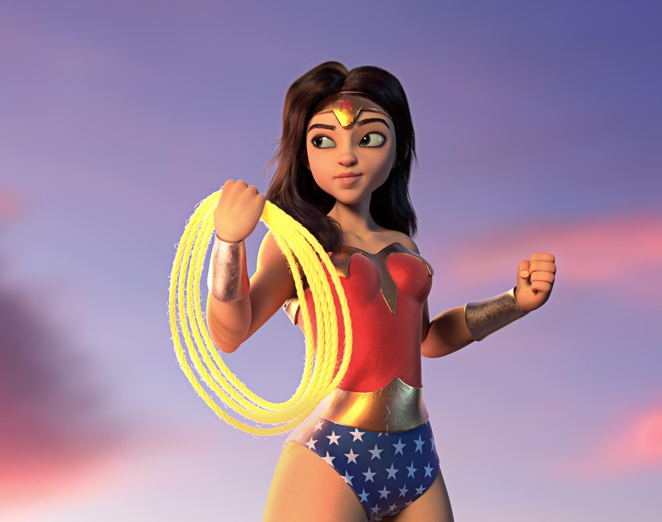 Wonder Womanby Brendon Souza